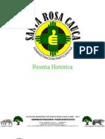 Reseña Historica-Santa Rosa Cauca
