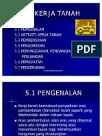 Unit 5-Kerja Tanah