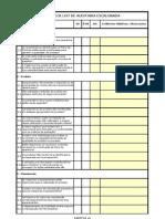 FORM.xxx-XX - Check List de Auditoria Escalonada