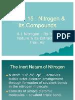 Group 15 - Nitrogen