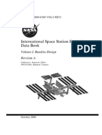International Space Station Evolution Data Book Vol I Baseline Design Rev A