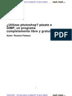 Utilizas Photoshop Pasate Gimp Programa Completamente Libre Gratuito 7411 Completo