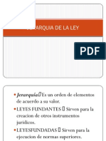 Jerarquia de La Ley