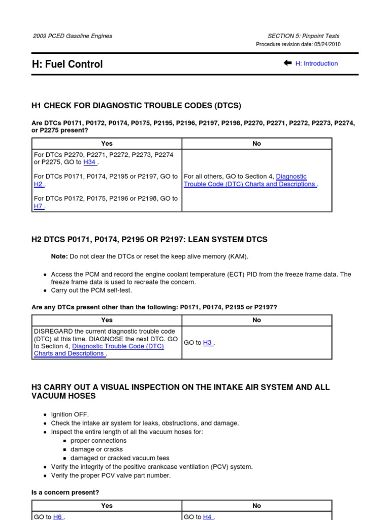 error code p2197 ford expedition