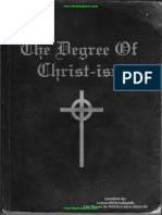The Degree of Christ-Ism