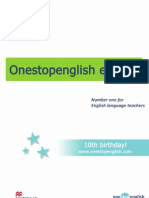One Stop English e Book