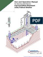 ASR Bomb Fallout Shelter Kit