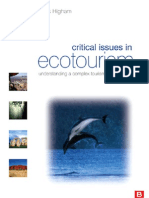 Critical Issues in Eco Tourism