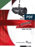 Manual Caja Spaicer PSDO 165-18A