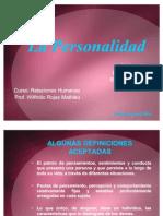 La Personal Id Ad Relaciones Humanas