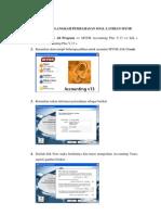 Tutorial Program Myob Accounting