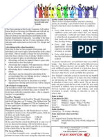 11th August 2011 Newsletter Web