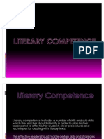 Literary Competence (1)