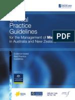 ClinicalPracticeGuidelines-ManagementofMelanoma
