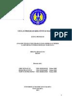 PKM-P-Analisis Tingkat Kecerahan Pada Berbagai Merek Lampu Hemat Energi Ditinjau Dari Daya