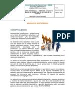 Analisis Del Despilfarro