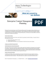 enterprisecontentmanagementecmplanning