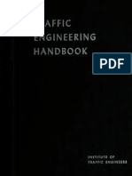 Traffic Engineering Handbook - 540 Pgs