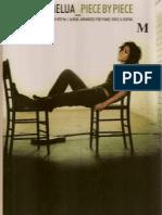 Katie Melua - Piece by Piece BOOK