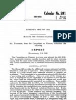 Senate Report 73-558
