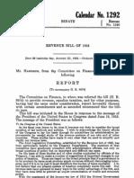Senate Report 74-1240