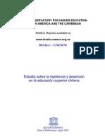 Estudio cia y Desercion en La Educ Sup Chilensis