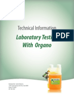 Laboratory Testing With Organometallic