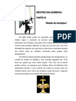 Mestre Das Sombras IX - BASTÃO DE ASCLEPIO