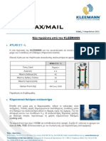 Kleemann NewsFax/Mail (082011) greek version