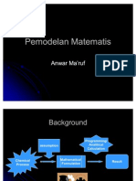 Pemodelan Matematis