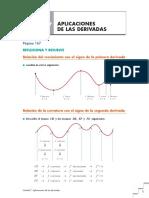 u7 Aplicaciones de Las Derivadas