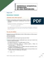 u13 Inferencia estadística estimación de una proporción