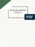My Teaching Experience