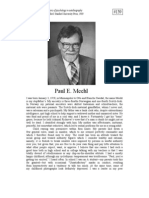 Paul Meehl Autobiography