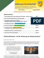INFLATIONSSCHUTZ-BRIEF (Börsenbrief) Nr. 23/2011 Der Zusammenbruch des Geldsystems (Kollaps)