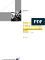 8.How to Setup Security Concept in SAP Business Planning and Consolidation