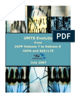 UMTS Evolution From 3GPP Release 7 to Release 8