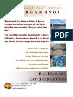 Assar Barramundi - Product Profile
