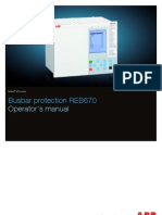 Operating Manual of REB 670