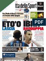 La Gazzetta Dello Sport 10.08.11