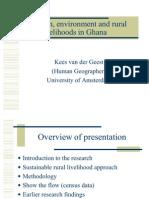 Migration Environment Rural Livelihoods Ghana