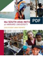 SAI Internship Booklet 2009