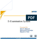 E-Examination project in jsp