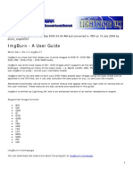 IMGburn User Guide PDF