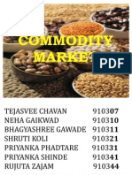 Commodity Market Ppt