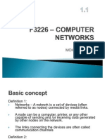 F3226 – COMPUTER NETWORKS -1.1