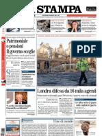 La Stampa 10.08.11
