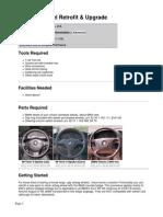 Bmw 3series Steering Wheel