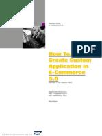 How to Create Custom App ECO5200