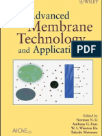 Advanced Membrane Technology and Applications by Norman N. Li